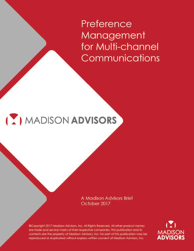 Preference Management for Multi-channel Communications